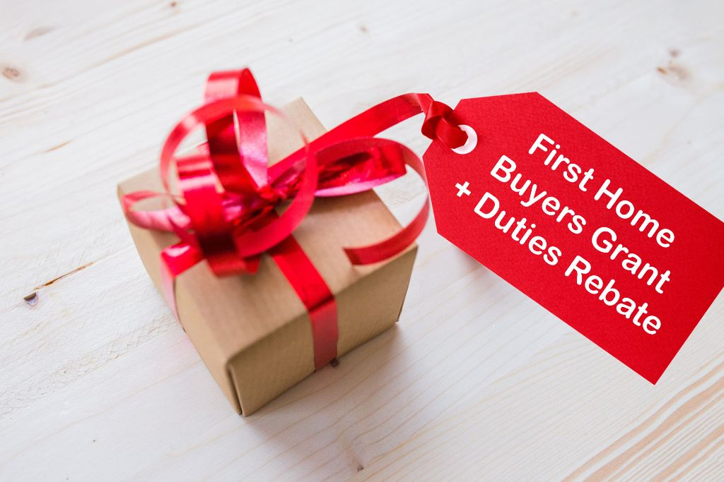 First Home Buyers Grant stamp duty rebate